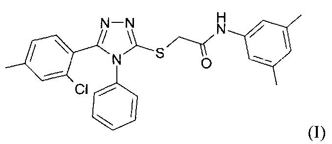 Амид 1,2,4-триазол-3-илтиогликолевой кислоты, обладающий противовирусной активностью, или его фармацевтически приемлемые соли, фармацевтические композиции и их применение для лечения и профилактики гриппа