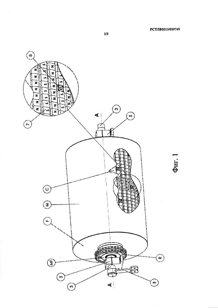 Барабан для магнитного сепаратора и способ его изготовления