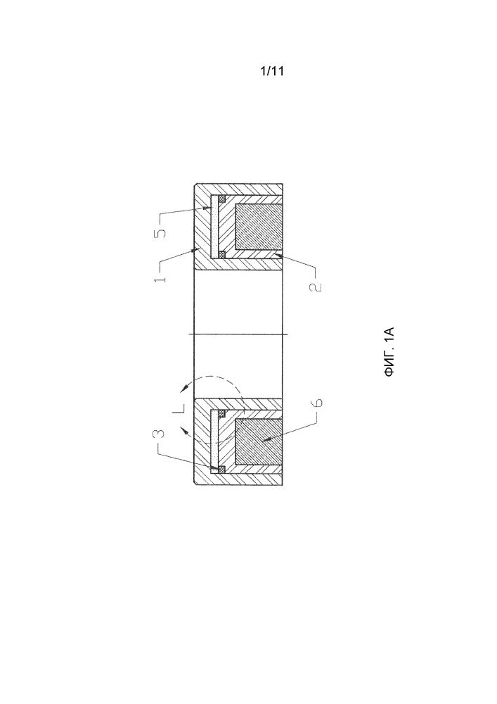 Способ и устройство для испытания несущей способности с использованием кольцевого датчика