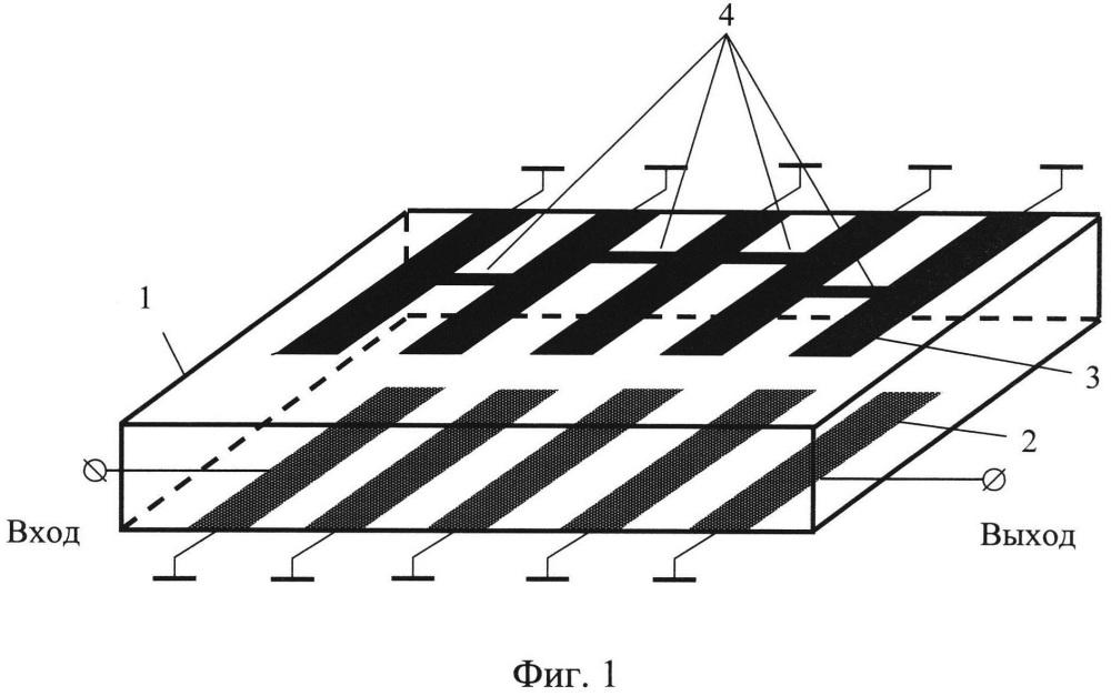 Широкополосный полосковый фильтр