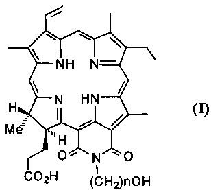 Способ получения фотосенсибилизаторов на основе циклоимидов хлорина р6