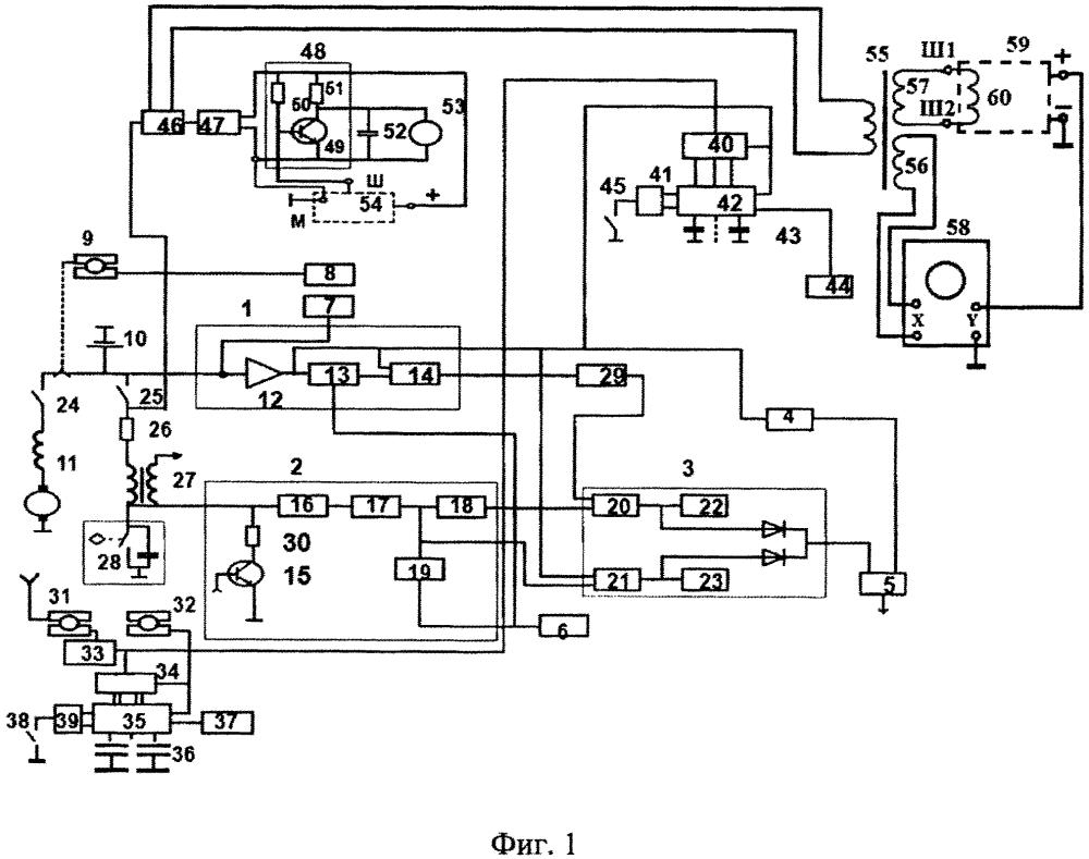 Анализатор работы систем двигателя внутреннего сгорания