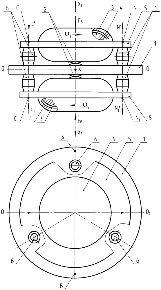 Гироскопическое устройство