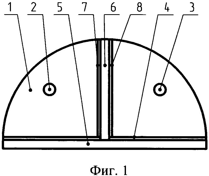 Узел формирования индикатрисы излучения бортового аэронавигационного огня