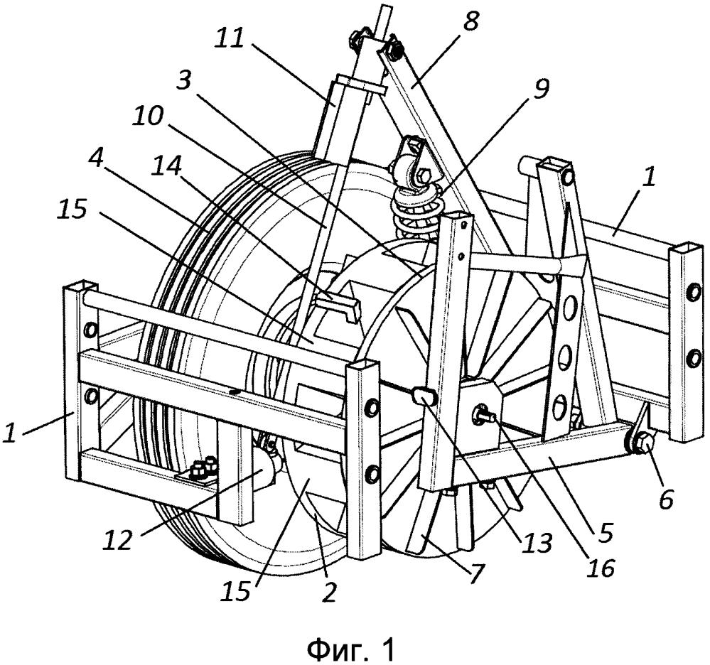 Способ определения коэффициента сцепления колеса с поверхностью и устройство для его осуществления