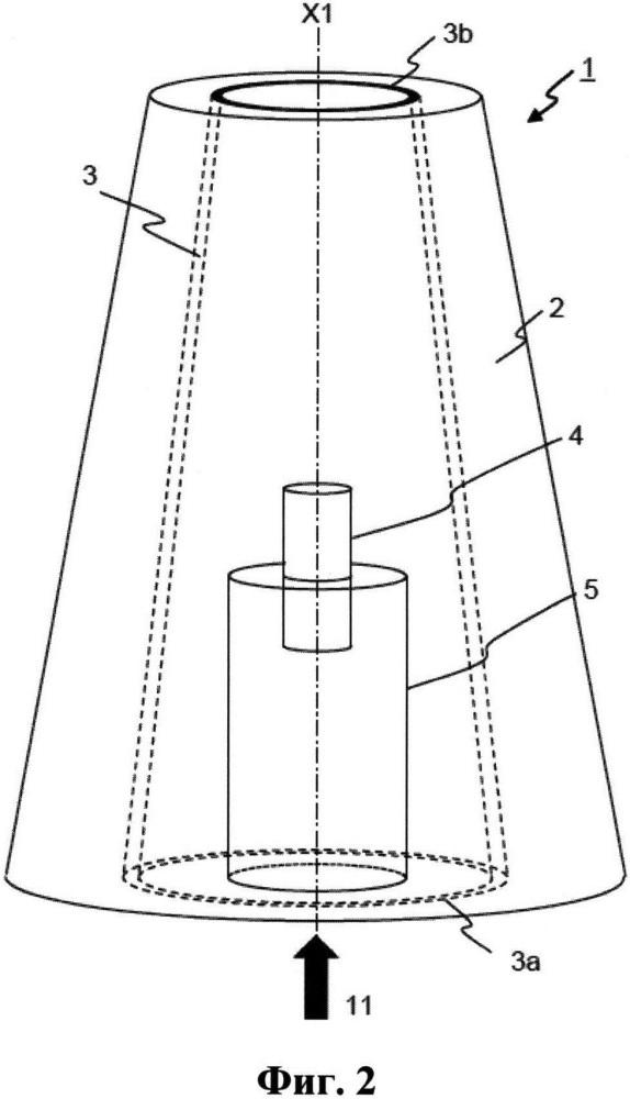 Продувочная пробка для газа, содержащая индикаторы износа