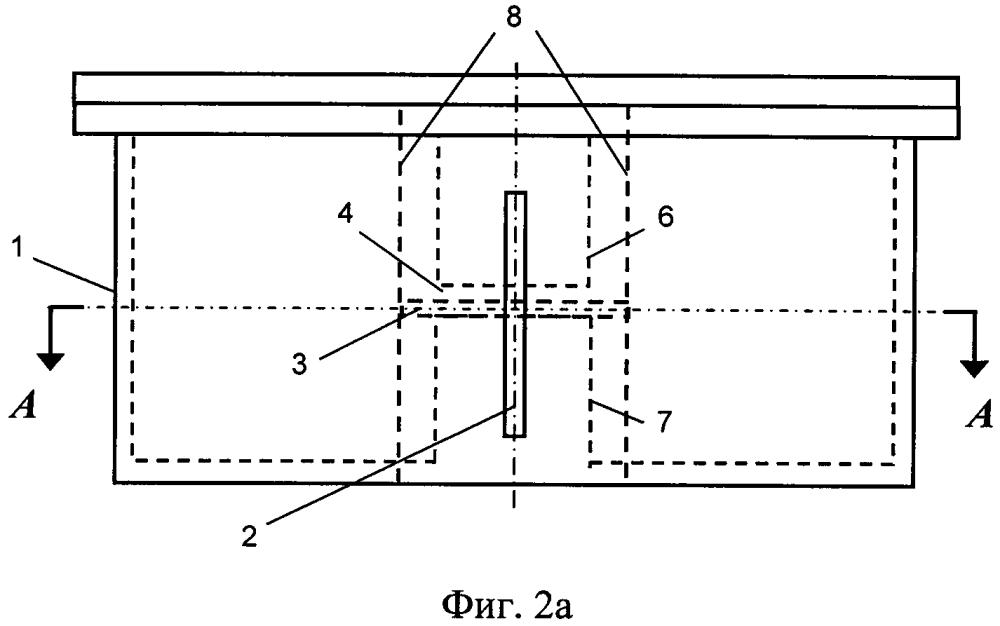Коаксиальный измерительный резонатор с неизлучающим окном для ввода образца