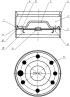 Крышка ампулы для отработавшей тепловыделяющей сборки реактора рбмк-1000