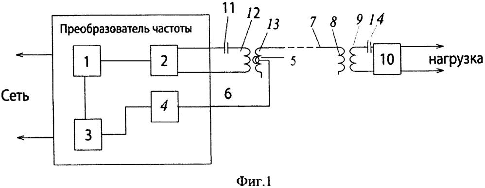 Способ и устройство передачи электрической энергии
