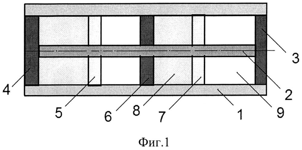Вибродемпфирующая вставка для полостей плит межэтажного перекрытия