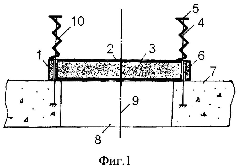 Способ кочетова взрывозащиты с демпфирующим устройством