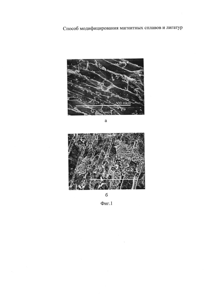Способ получения модифицированной лигатуры неодим-железо для постоянных магнитов неодим-железо-бор