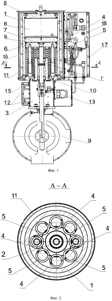Пневмопривод для клапанов осесимметричных
