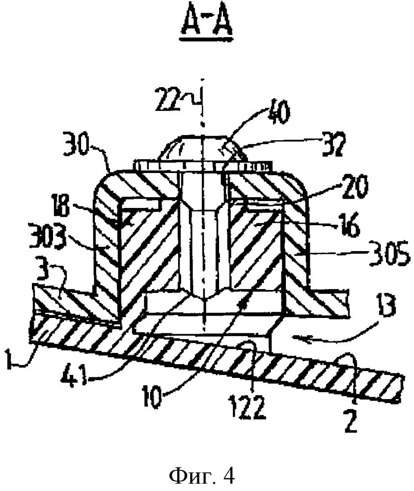 Элемент восприятия усилия, соответствующий приемный элемент для соединения двух деталей из полимерного материала и соответствующая сборка из двух деталей
