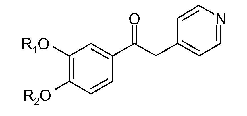 Производные 1-фенил-2-пиридинилалкильных спиртов в качестве ингибиторов фосфодиэстеразы