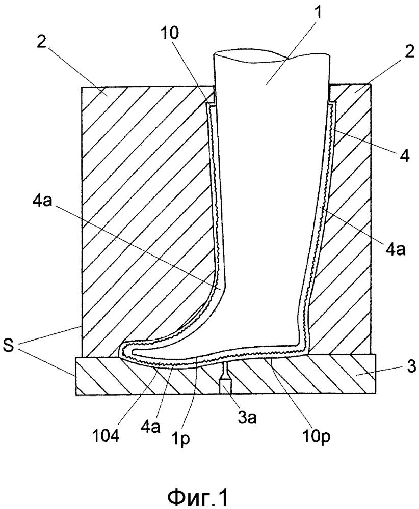 Способ изготовления обуви с тканым верхом с внутренним водонепроницаемым покрытием