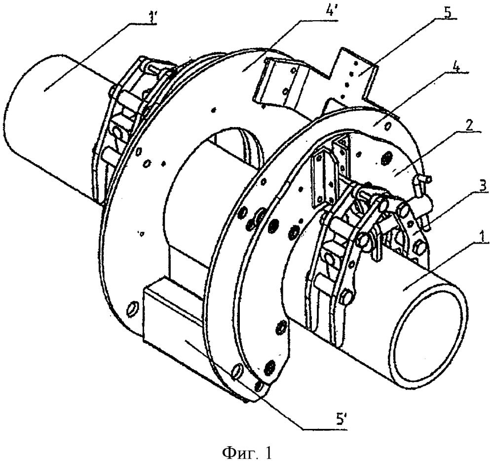 Устройство для соединения концов стальных труб орбитальной сваркой