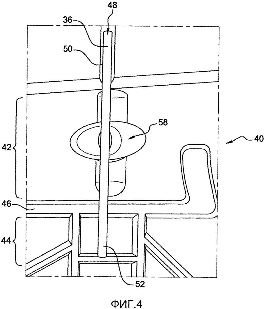 Оснастка для изготовления литейного сердечника для лопатки турбомашины