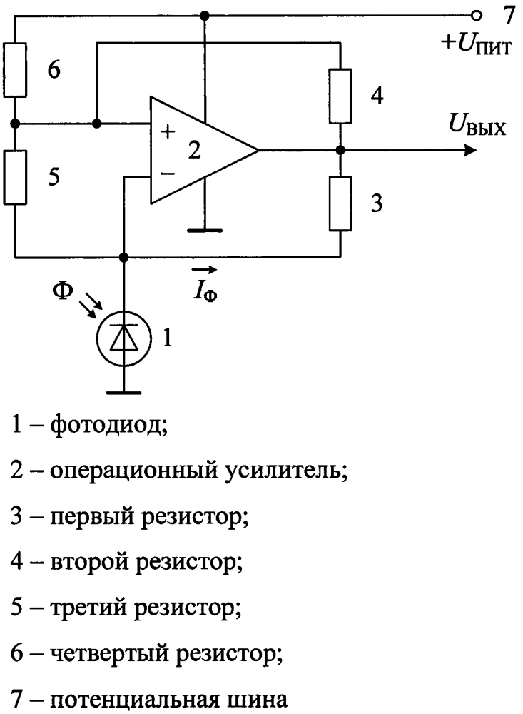 Преобразователь оптического излучения в ширину импульсов напряжения