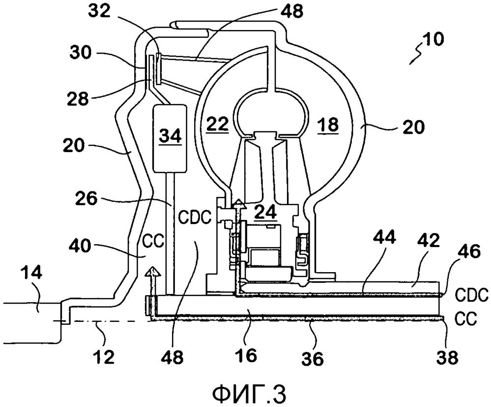 Гидротрансформатор моторного транспортного средства