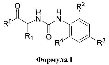 Производные арилмочевины в качестве модуляторов n-формилпептидного-1 рецептора (fprl-1)