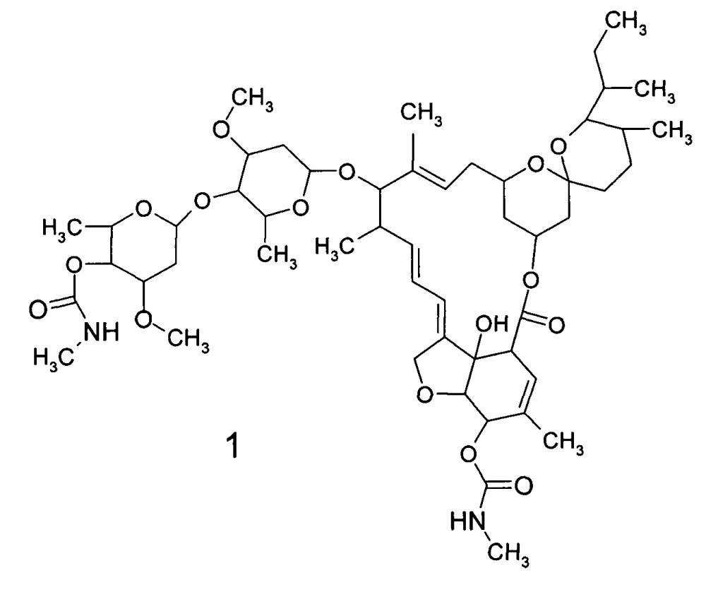 4-о,5-о-ди(метилкарбамат)ивермектина, способ его получения и антипаразитарное средство на его основе
