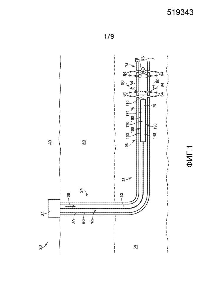 Системы и способы вспомогательного уплотнения перфорации в скважинной обсадной колонне