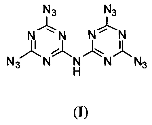 Способ получения n,n-бис(4,6-диазидо-1,3,5-триазин-2-ил)амина