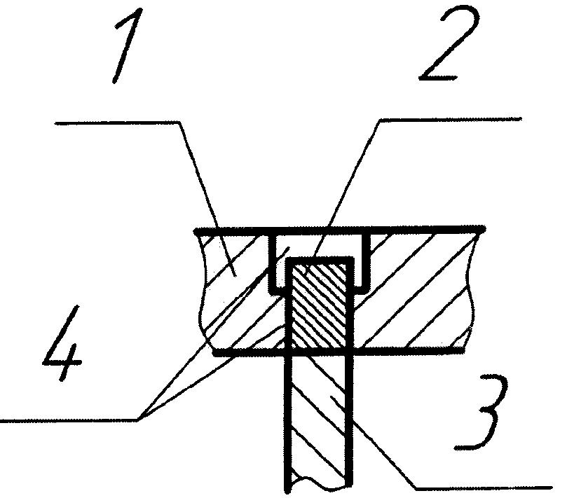 Способ электронно-лучевой сварки плиты с оребрённой поверхностью