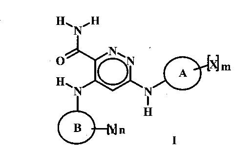 Соединения пиридазинамида и их применение в качестве ингибиторов тирозинкиназы селезенки (syk)