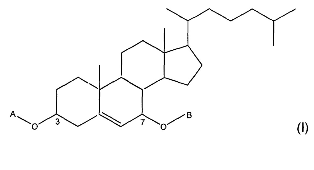 Производные стеринов и их применение для лечения заболеваний, связанных с трансформированными астроцитными клетками, или для лечения злокачественных заболеваний крови