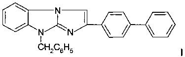 9-бензил-2-бифенилимидазо[1,2-а]бензимидазол и его фармацевтически приемлемые соли, проявляющие свойства разрушителей поперечных сшивок гликированных белков