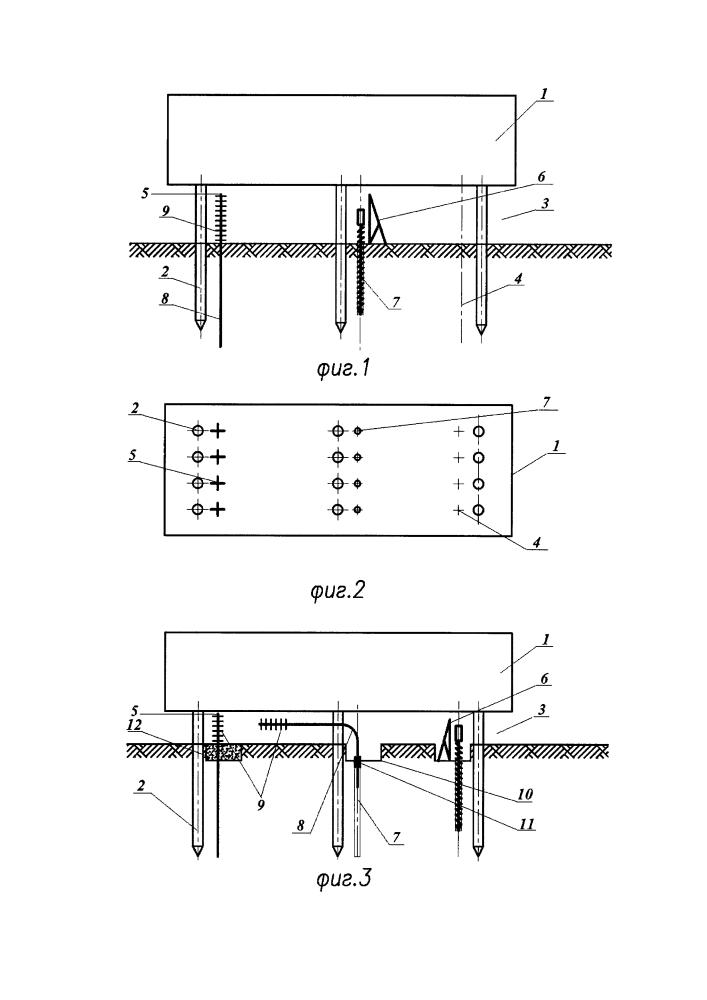 Способ установки термостабилизаторов в проветриваемом подполье эксплуатируемых зданий