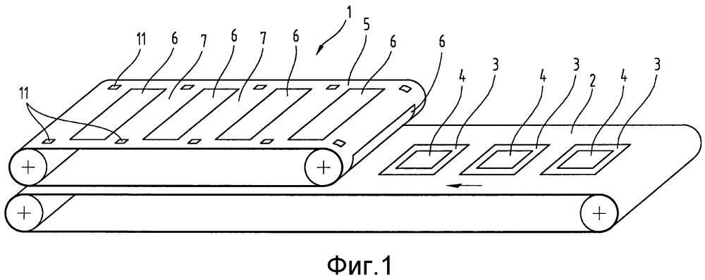 Способ структурирования прессующей ленты