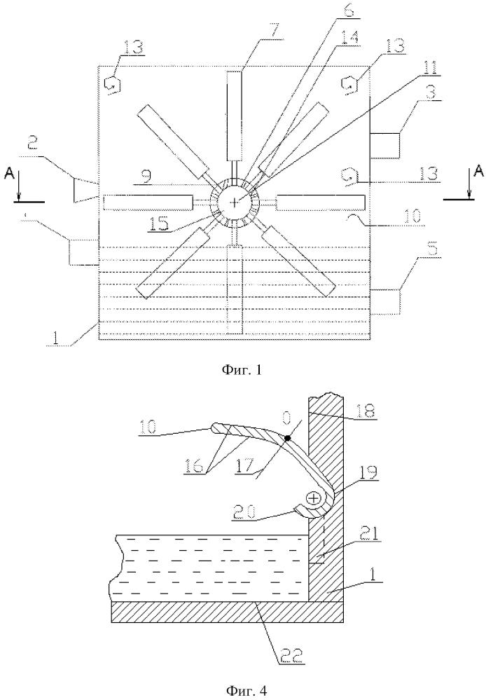 Аппарат для обработки газа