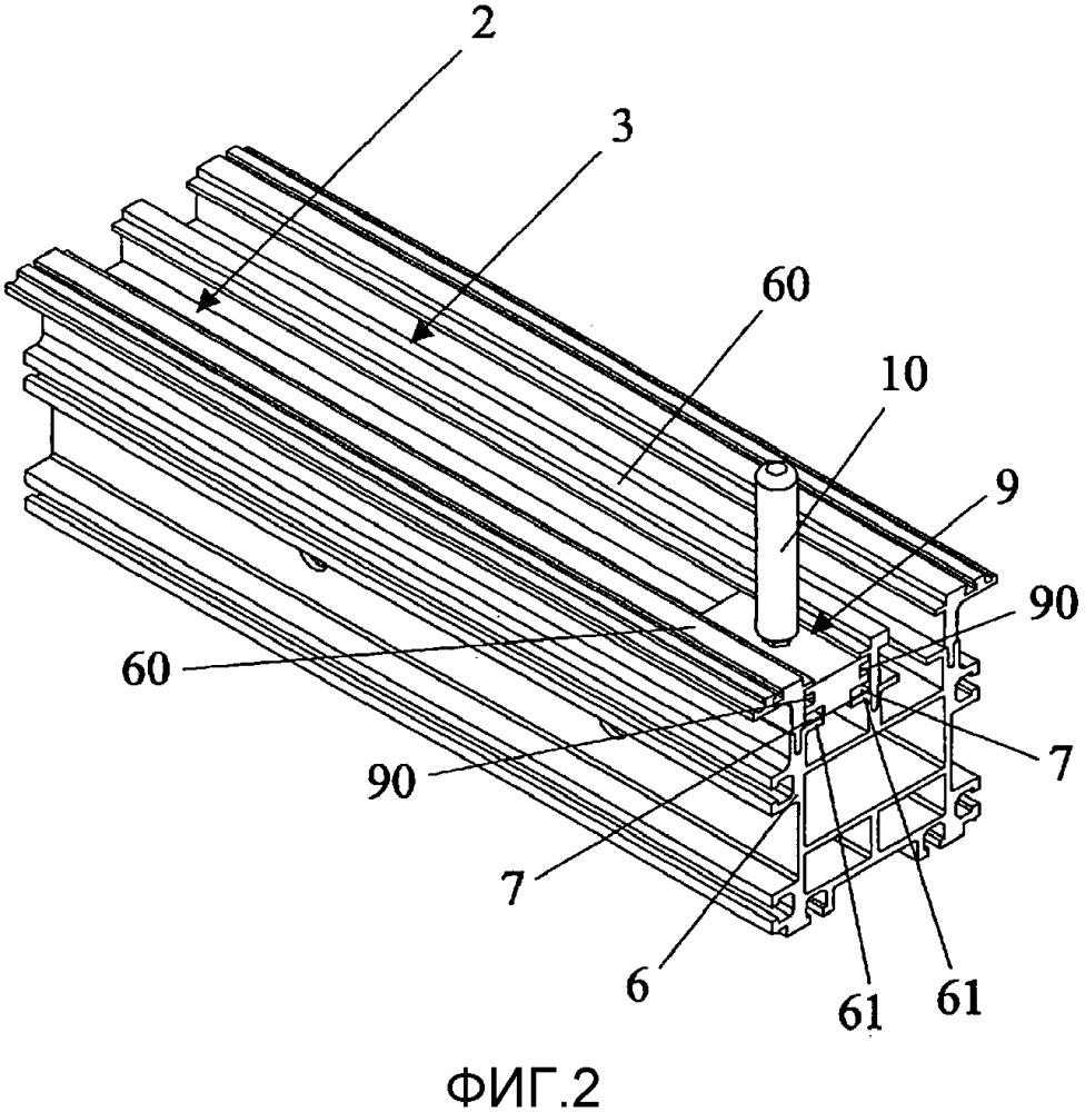 Лабораторная автоматизированная система с лентой покрытия, помещенной между лентой автоматического конвейера и профилем скольжения, и способ нанесения ленты покрытия