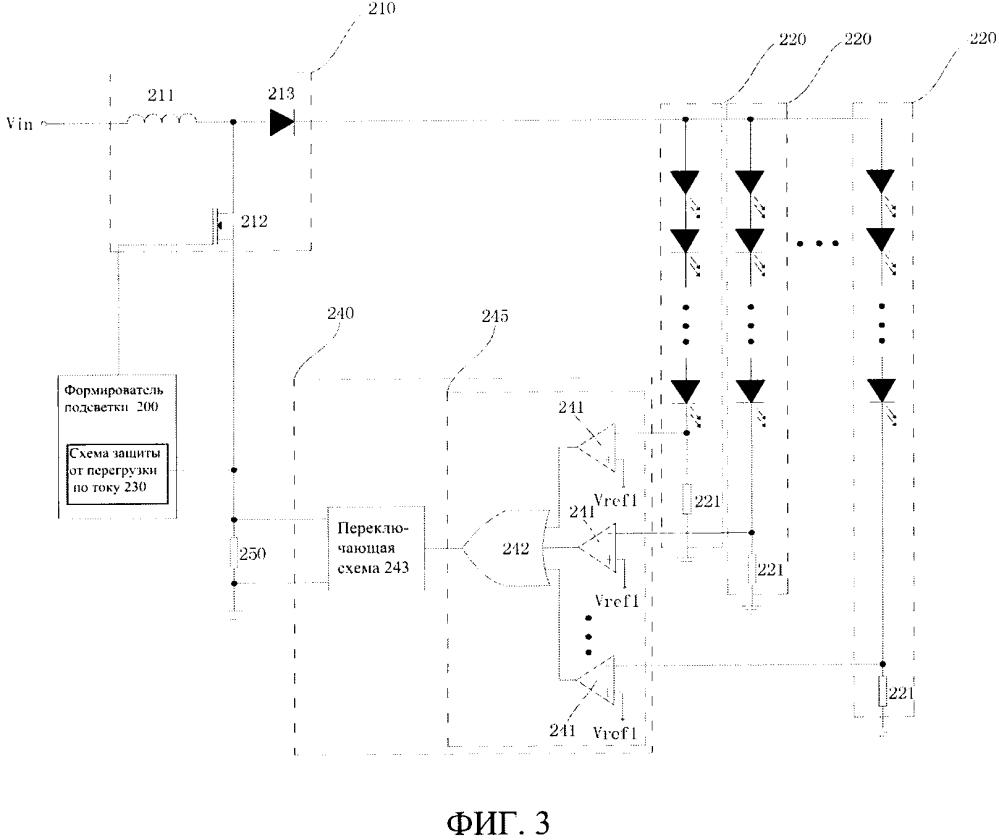 Источник сд-подсветки и жидкокристаллическое устройство