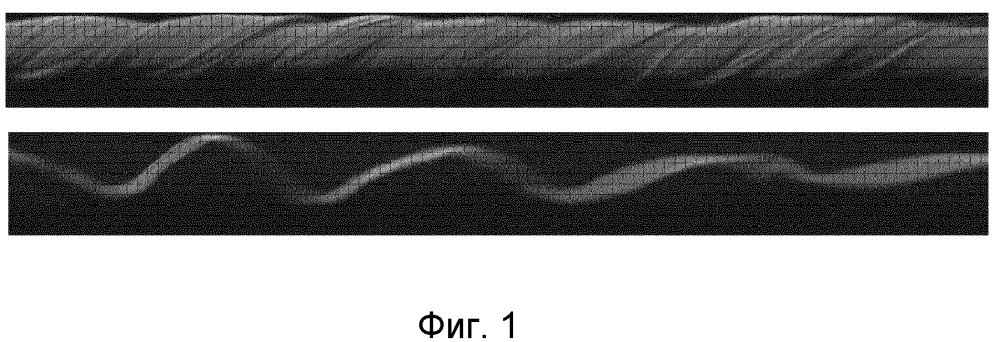 Способ неразрушающего исследования синтетических тросов и подходящий для использования в нем трос