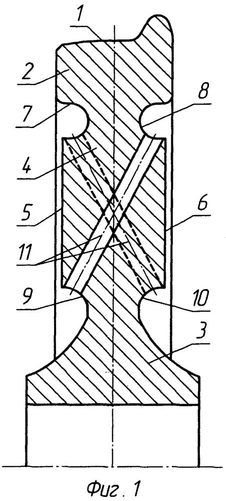 Железнодорожное колесо с боковыми поверхностями торможения (варианты)