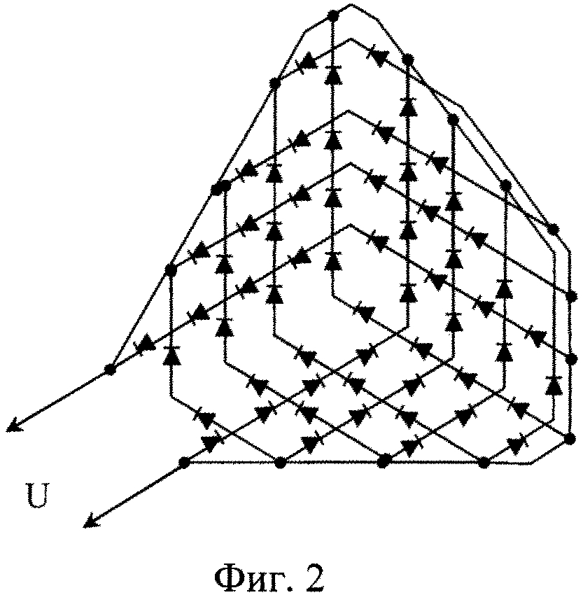 Антенна в форме уголкового отражателя сверхвысокочастотного диапазона с p-i-n-диодами для передачи дискретной информации