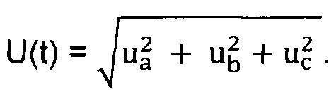 Способ измерения мгновенного коэффициента мощности трехфазной сети и устройство для его осуществления
