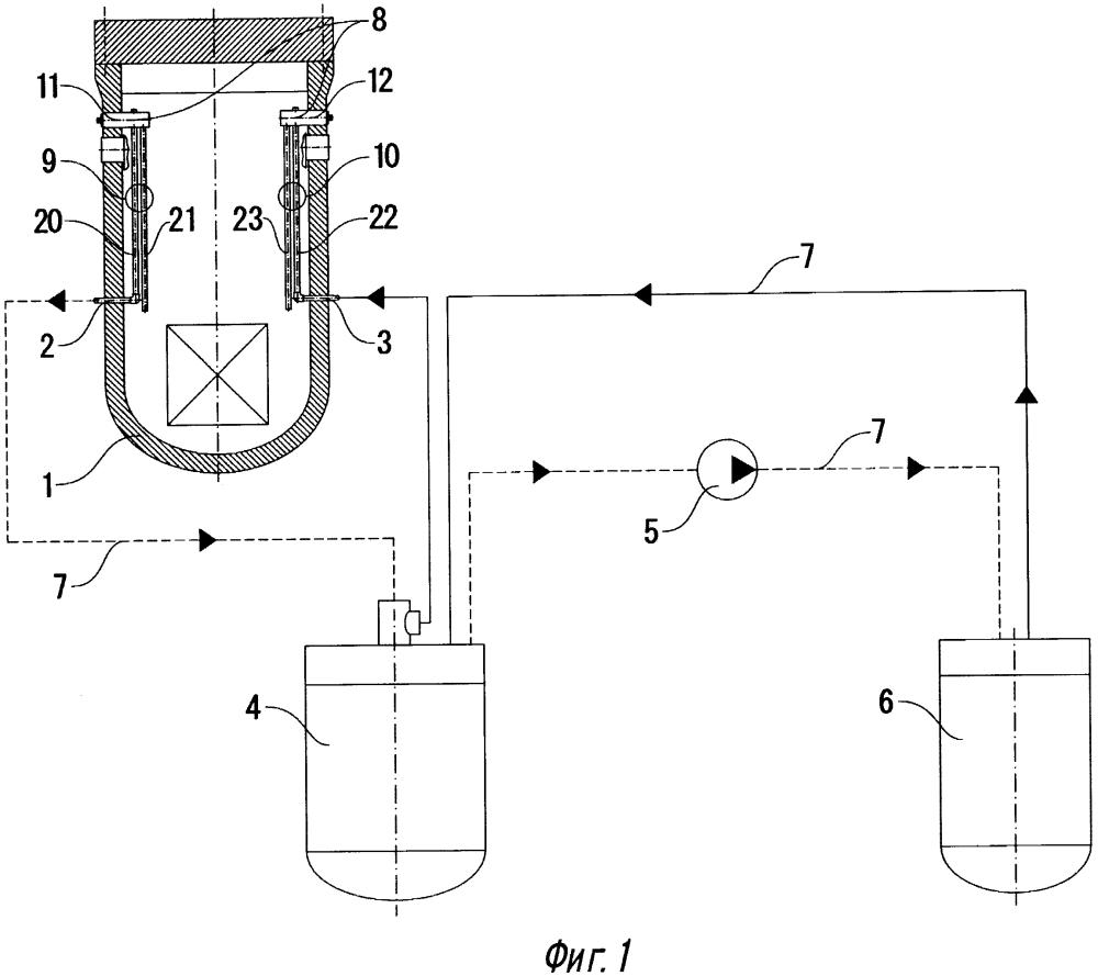 Система очистки и расхолаживания теплоносителя ядерного реактора
