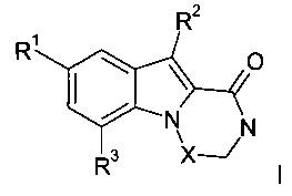 Пиперазино[1,2-а]индол-1-оны и [1,4]диазепино[1,2-а]индол-1-он