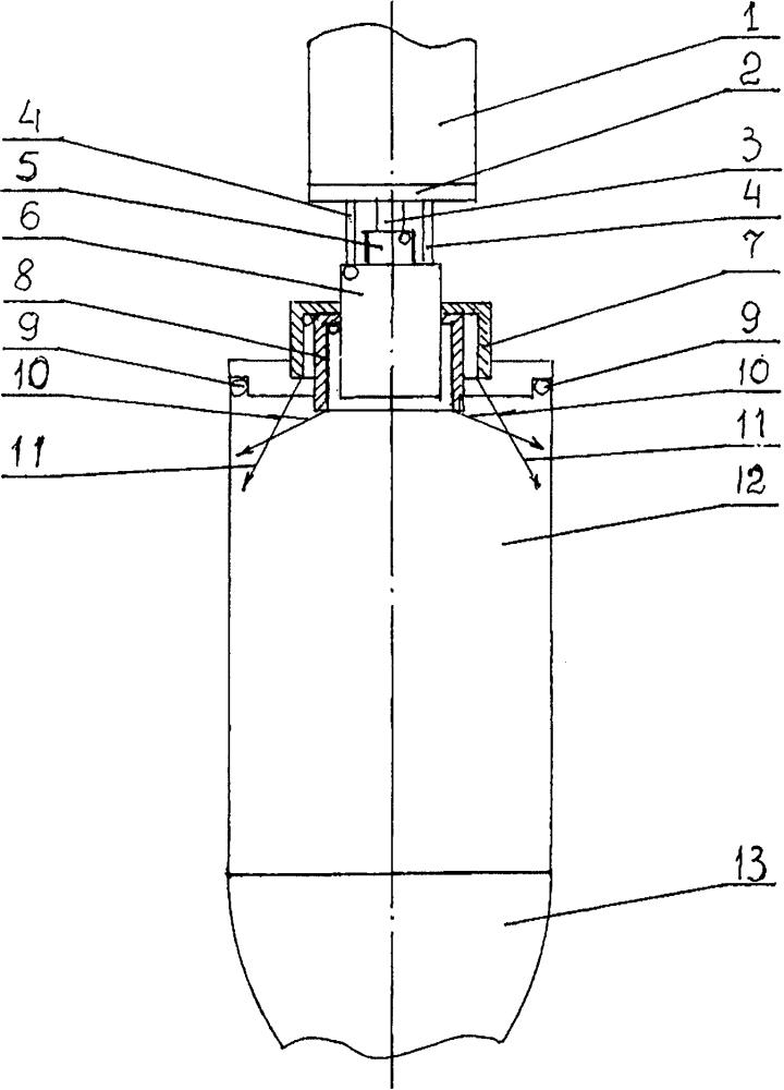 Ракетный двигатель малой тяги на газообразных водороде и кислороде с центробежными форсунками