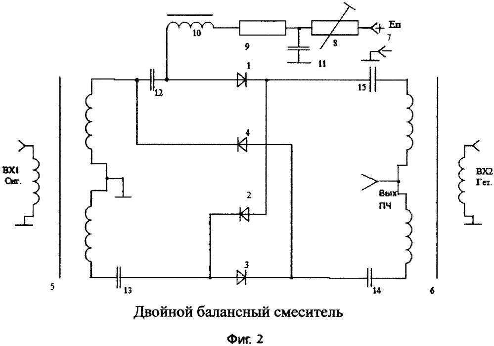 Способ повышения чувствительности балансных диодных смесителей и устройство для его осуществления