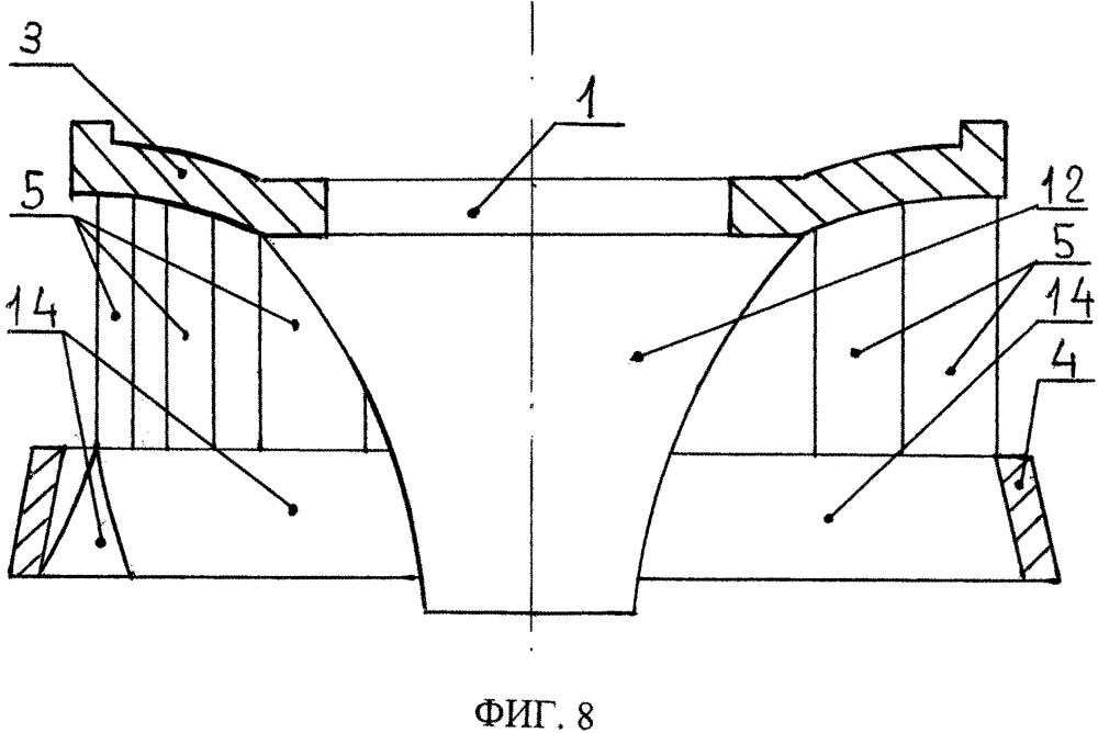 Способ придания движения рабочему колесу и рабочее колесо гидротурбины