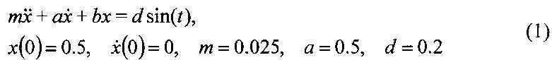 Устройство идентификации параметров акселерометра