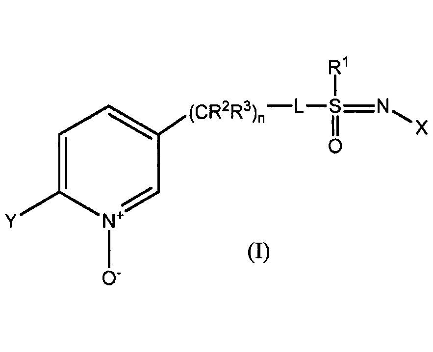 Получение n-замещенных n-оксидов сульфоксиминпиридина