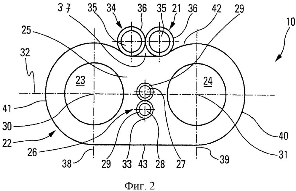 Устройство электрического и гидравлического соединения для системы подачи и/или распределения омывателя ветрового стекла