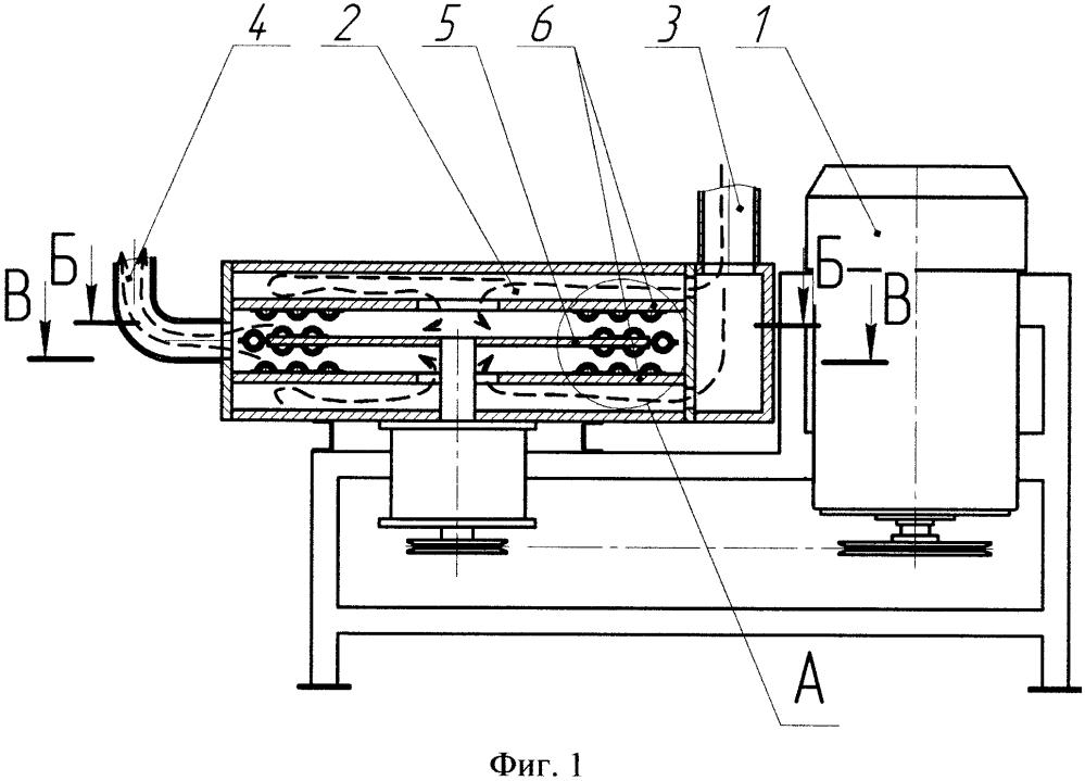 Роторный аппарат